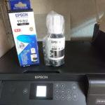 印刷がかすれるプリンタを2台ゲット、メンテしてちゃんと動くのでしょうか!